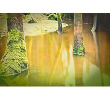 indian creek rising Photographic Print