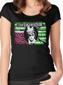 God Save The King Women's Fitted Scoop T-Shirt