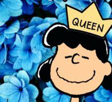 Lucy Peanuts Queen Edit Sticker