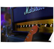 Guitar Amplifire Poster