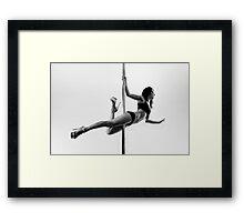 Pole Art - Superman II Framed Print