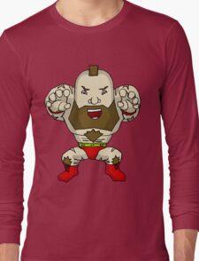 Chibi Zangief Long Sleeve T-Shirt
