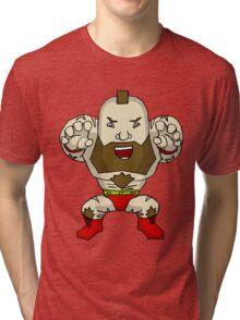 Chibi Zangief Tri-blend T-Shirt