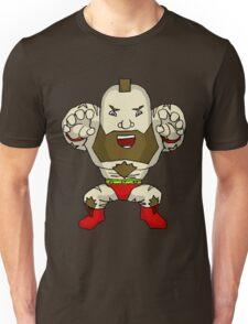 Chibi Zangief Unisex T-Shirt