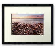 Sunrise Shoreline Framed Print