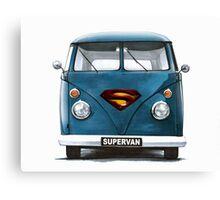 VW Supervan Split Screen Camper Canvas Print