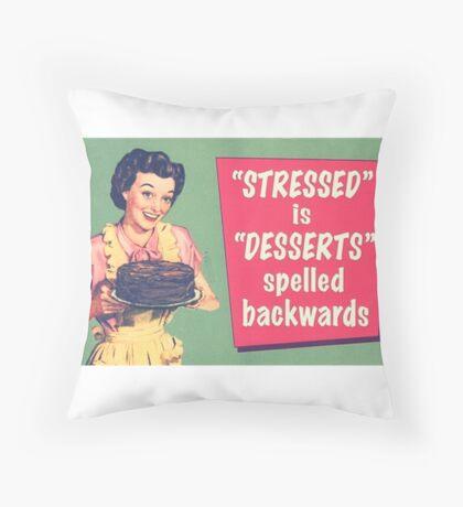 Dessert? Throw Pillow