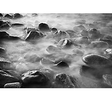 Rocks and Tide Photographic Print