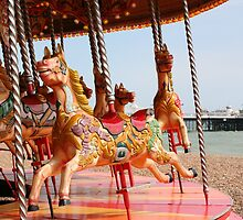 The Merry Go Round by Tony Steel