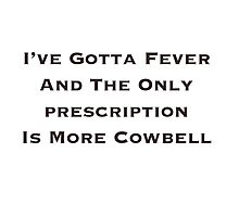 Cowbell SNL Photographic Print