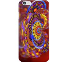 Tilt-a-Whirl. abstract by Alma Lee iPhone Case/Skin