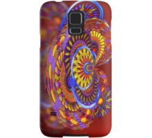 Tilt-a-Whirl. abstract by Alma Lee Samsung Galaxy Case/Skin