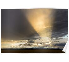 Sunset Flashlight Poster