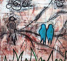 Birds In The Bush by Laura Barbosa