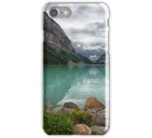 The Calm Shores of Lake Louise iPhone Case/Skin