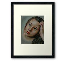 Serena Framed Print