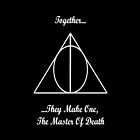 Harry Potter & The Deathly Hallows iPhone Case by Dsavage94