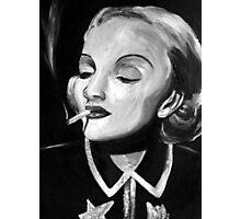 Marlene in Monochrome Photographic Print