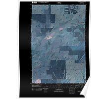 USGS Topo Map Washington State WA Providence 20110404 TM Inverted Poster