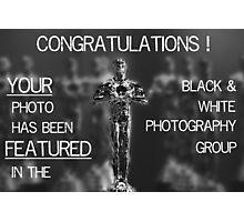The Chosen One Photographic Print
