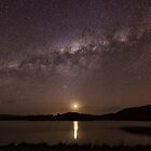 Milky Way Moonset by Kristin Repsher