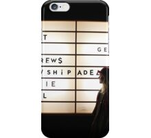 Adelaide Hall Sept, 24-1 iPhone Case/Skin