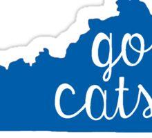 Go Cats Sticker