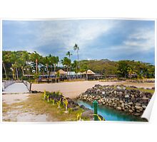 Fijian Resort Poster