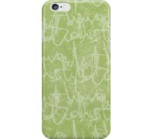 What potions have I distill'd (Green) iPhone Case/Skin