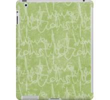 What potions have I distill'd (Green) iPad Case/Skin