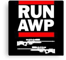RUN AWP Canvas Print