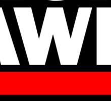 RUN AWP Sticker