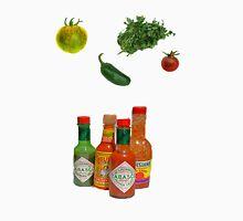 hot sauce and veggies Unisex T-Shirt