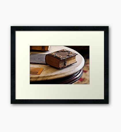 This Album Speaks Volumes  Framed Print