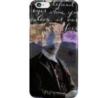 focus..........................(quote=mark twain) iPhone Case/Skin