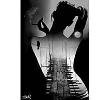 bridge to the soul Photographic Print