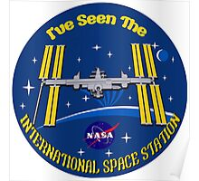 I Saw the ISS Poster