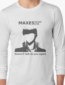 Social Link Maxed Long Sleeve T-Shirt