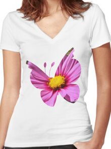 Vivillon used aromatherapy Women's Fitted V-Neck T-Shirt