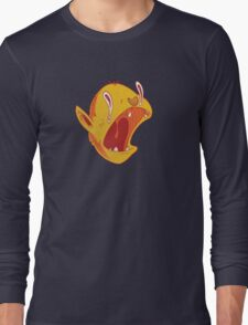 Candy corn vampire Long Sleeve T-Shirt