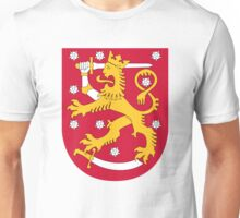 Finland Coat of Arms Unisex T-Shirt