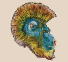 Mohawk Mandrill by James Fosdike