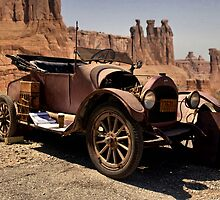 1917 Willys Overland Model 90 Light Roadster by TeeMack