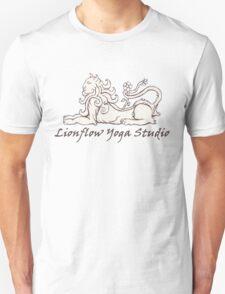 Lionflow Logo , Black & White Unisex T-Shirt