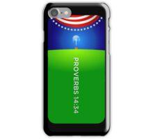 PROVERBS 14:34 iPhone Case/Skin