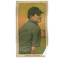 Benjamin K Edwards Collection Howie Camnitz Pittsburgh Pirates baseball card portrait 003 Poster