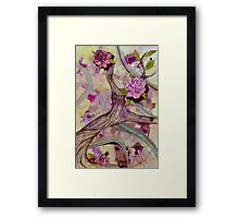 Agate Breeze Framed Print