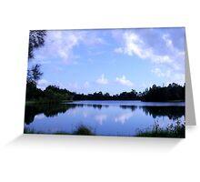 Yamba Lagoon Greeting Card