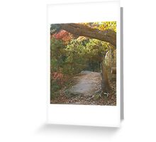 The Rock on the Rim Trail Greeting Card