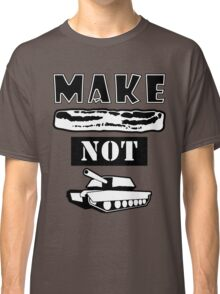 Make Bacon Not War Iconic Tshirt Classic T-Shirt